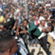 Chaos as young people tried to get into Orlando Stadium in Soweto for the Youth Day celebrations.