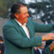 Charl Schwartzel, right, of South Africa receives his green jacket from former champion Phil Mickelson, left, of the US after winning the 2011 Masters golf tournament at the Augusta National Golf Club.