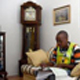 Census field work Simo Chiyi during a datra capture session at a home in Parow West. Picture Ian Landsberg