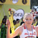 Gold medalist sisters Olesya and Elena Nurgalieva were robbed of their belongings at yesterday's race