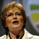 DA leader Helen Zille cited the party's success in running Cape Town in her bid to garner votes in East London, a site of turbulence for the ANC in recent months. Photo: Independent Newspapers