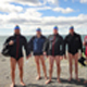 The five South African extreme swimmers that have successfully completed the first leg of their Patagonia Extreme Swimming Challenge
